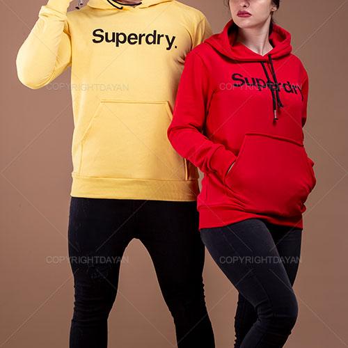 ست سویشرت مردانه و زنانه Superdry مدل U8689