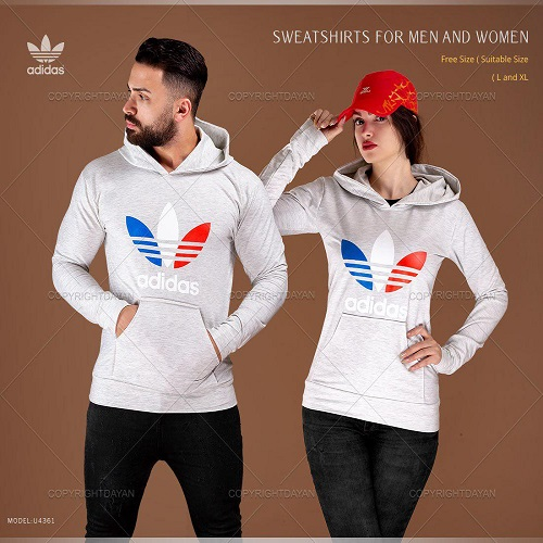 ست سویشرت مردانه و زنانه Adidas مدل U4361