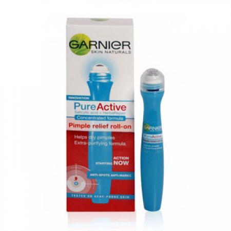 فروش پستی کرم ضد جوش گارنیر garnier skin naturals pure active (کرم رولی ضد جوش)