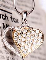 گردنبند دو قلب | Two Hearts Necklace