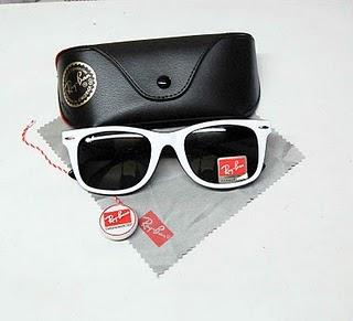 فروش پستی عینک ریبن ویفری سفید اورجینال یا عینک آفتابی ریبن vaferi سفید