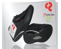 کفش لاغری پرفکت استپس 2014 هلز واک مشکی | کفش perfect steps مشکی مدل 2014 سری