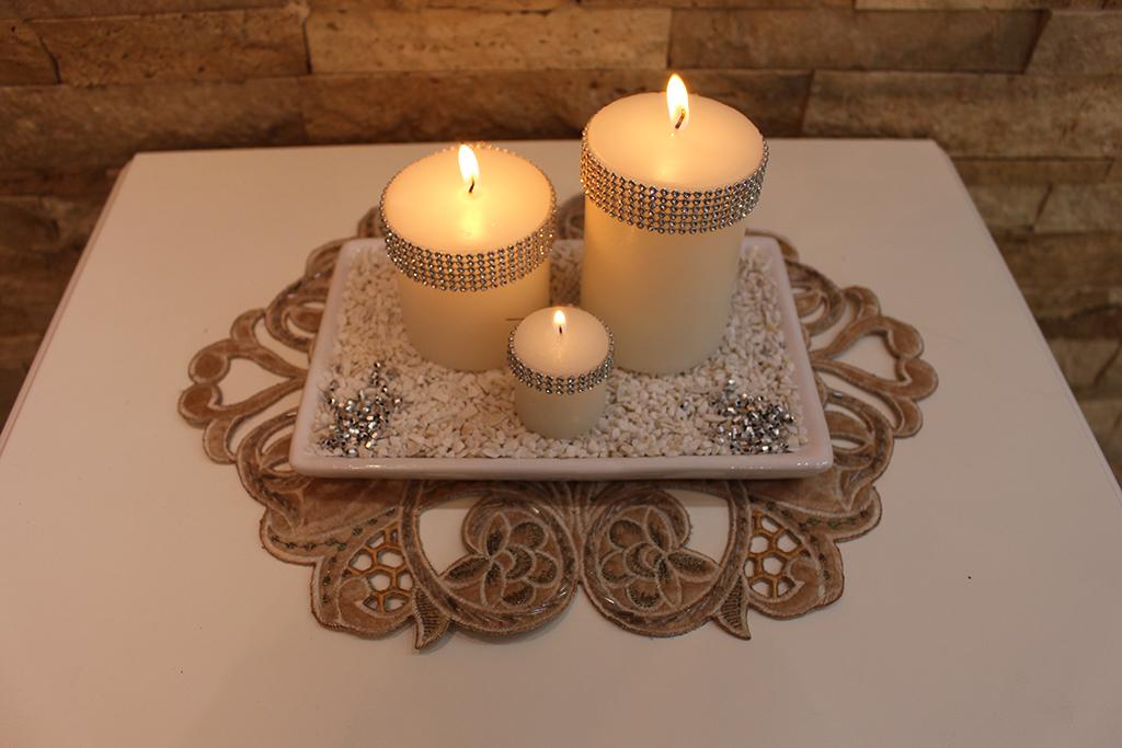 شمع تزیینی