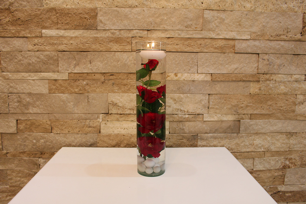گلدان استوانه ای