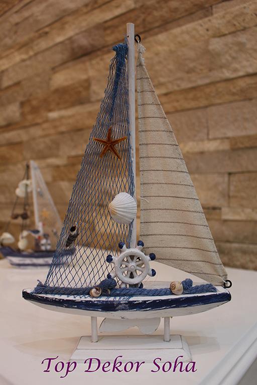 مجسمه قایق طرح ستاره