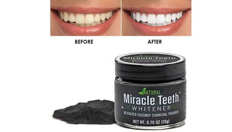 پودر سفید کننده ی دندان میراکل