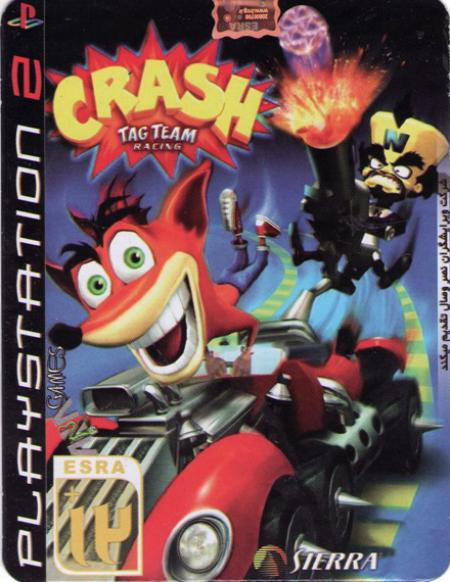 گیم CRASH TAG TEAM RACING