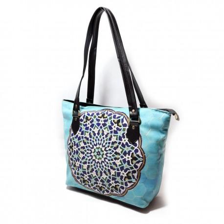 کیف دوشی زنانه حوض نقاشی