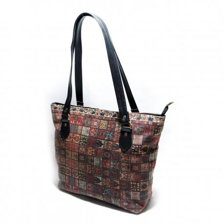 کیف دوشی زنانه خشتی