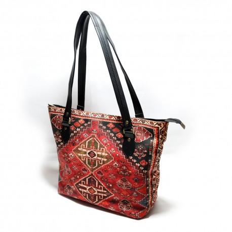 کیف دوشی زنانه قشقایی