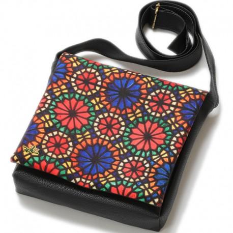 کیف چرمی خورجینی مدل ارسی