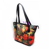 کیف دوشی زنانه گل و مرغ