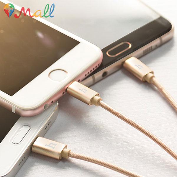 کابل تبدیل USB یک به سه Lightning , Micor , Type C هوکو HOCO X2