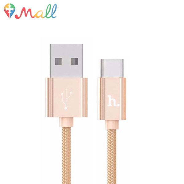 کابل تبدیل USB به Type C هوکو HOCO X2