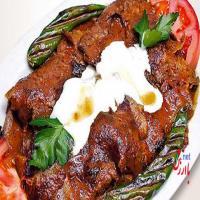 کباب ترک پرسی گوشت 1  نفره