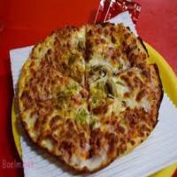 پیتزا قارچ و مرغ مخصوص ایدا