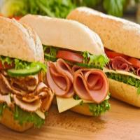 ساندویچ ژامبون گوشت