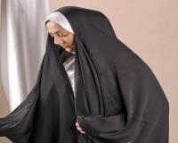 چادر عبایی کن کن