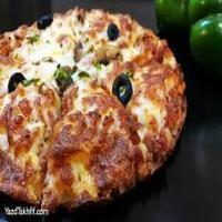 پیتزا قارچ و گوشت قالب دو نفره