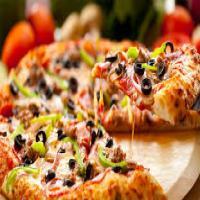 پیتزا مخصوص پارسه قالب دو نفره