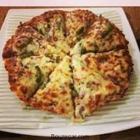 پیتزا مخلوط  قالب دو نفره