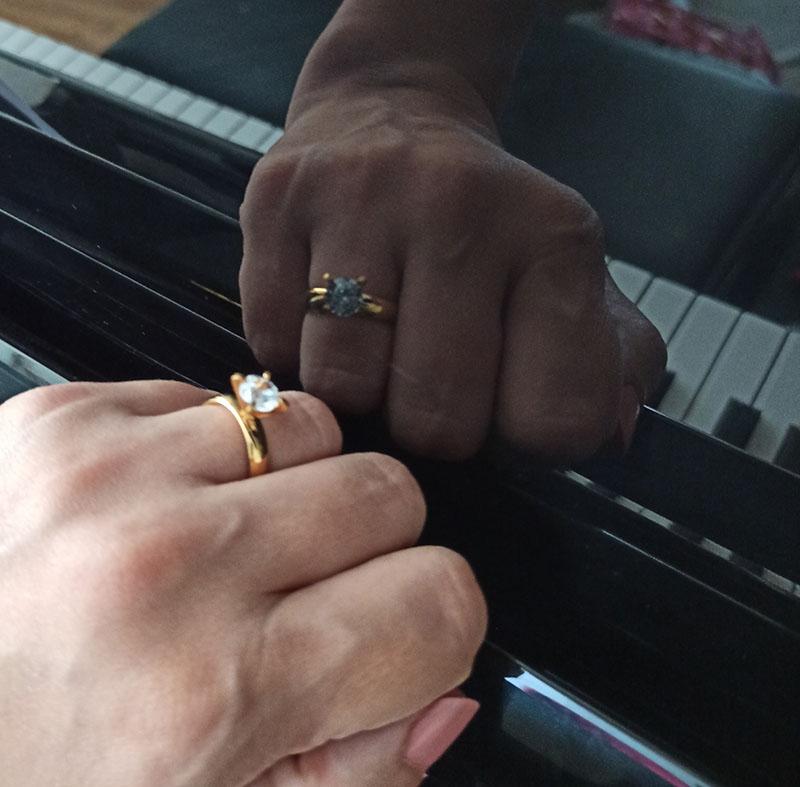 انگشتر مدل N208