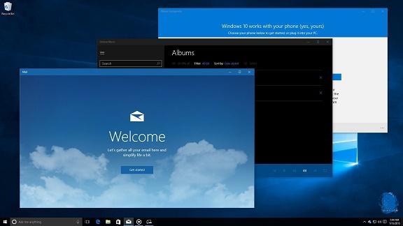 windows 10 enterprise نسخه نهایی ویندوز 10 + آموزش + آنتی ویروس 2 ساله