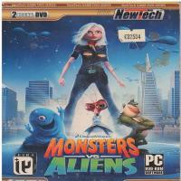 بازی تخیلی هیولاها علیه بیگانگان Monsters vs Aliens