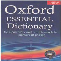 دیکشنری Oxford Essential Dictionary