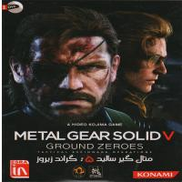 METAL GEAR SOLID V GROUND ZEROES- اورجینال