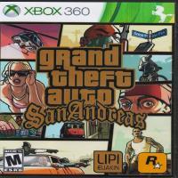 بازی grand theft auto sanandreas -XBOX360 -اورجینال