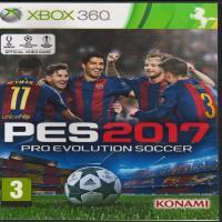 بازی PES 2017 -XBOX 360 -اورجینال