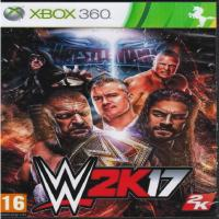 بازی کشتی کج - W2K17 -XBOX360 -اورجینال