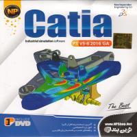 Catia p3- v5-6 2016 GA -اورجینال