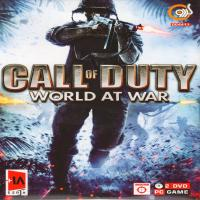 بازی CALL OF DUTY WORLD AT WAR -اورجینال