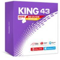 مجموعه نرم افزاری KING 43 Edition 2016