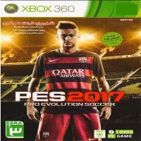 PES نسخه لایسنس شده-2017 -XBOX360- اورجینال