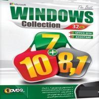 ویندوز coiiection7+10+8,1 ,dvd9 32bit-اورجینال