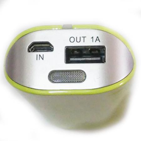 شارژر همراه پاور بانک قوی با چراغ قوه