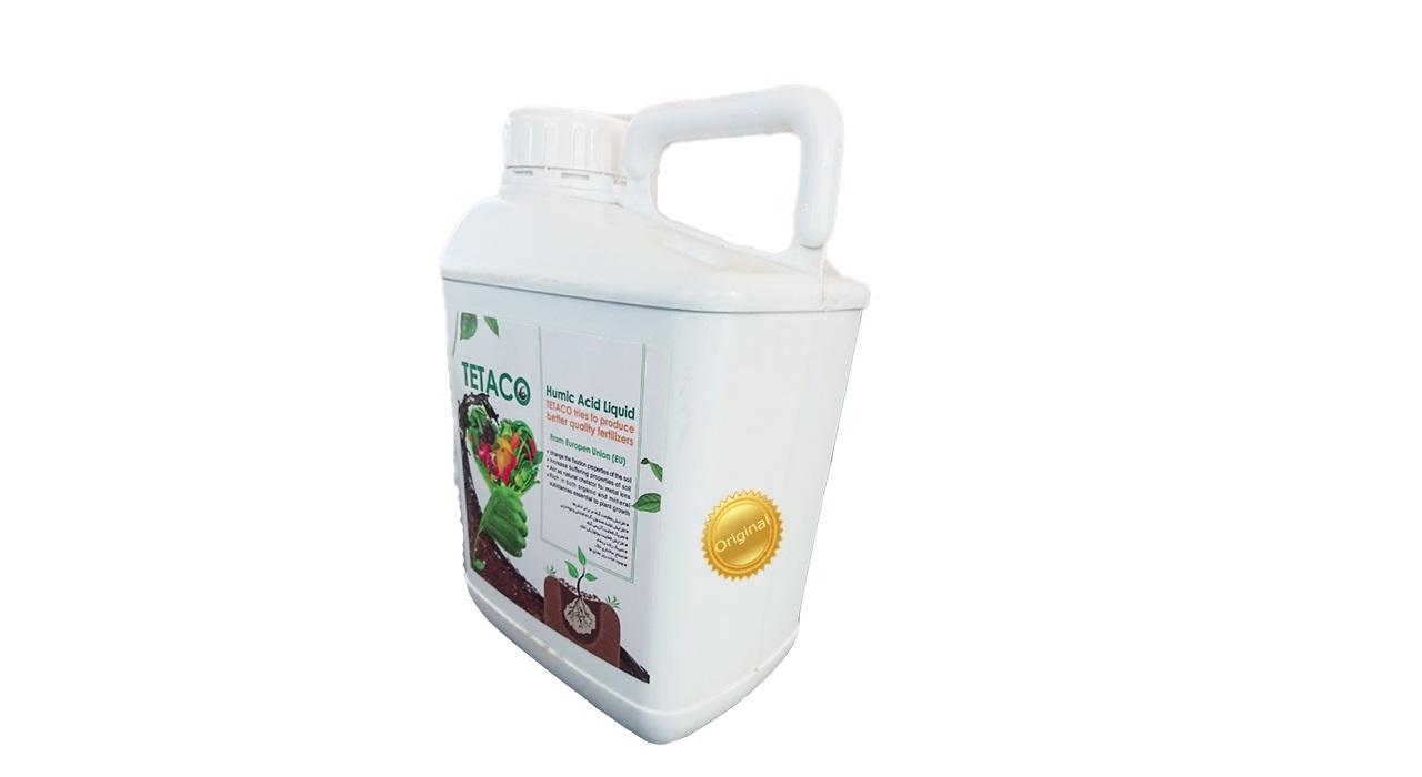 کود مایع تتاکو مدل هیومیک اسید HUMORE بسته 5 لیتری