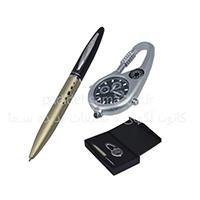 ست خودکار ، ساعت ، جا کلیدی ، تست اسکناس و قطب نما