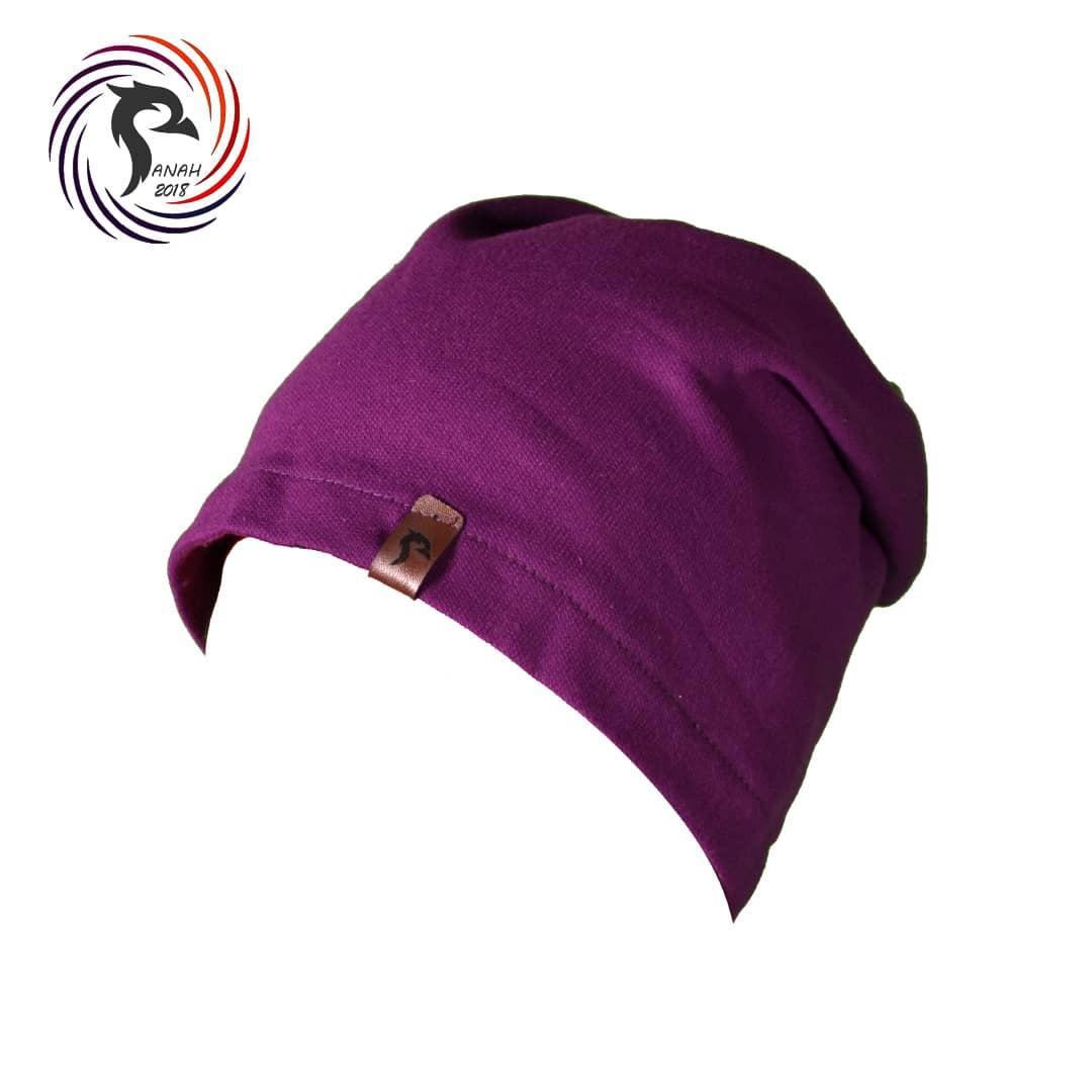 کلاه اسکارف بنفش