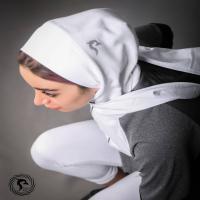 حجاب سر ورزشی سفید