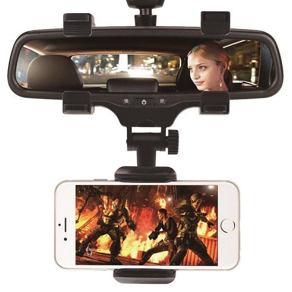 هولدر آینه ای یونورسال اتومبیل (استند آنتی شوک)