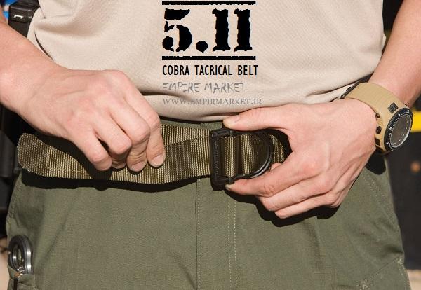 کمربند چسبی تاکتیکال مدل 5.11 COBRA