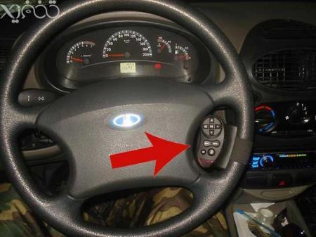 اف ام پلیر فندکی خودرو (دارای کنترل فرمان)