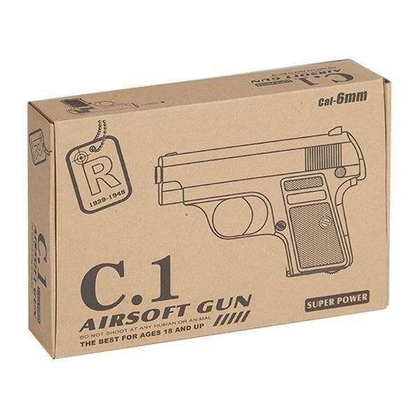 تفنگ ایرسافت فلزی مدل کلت C.1