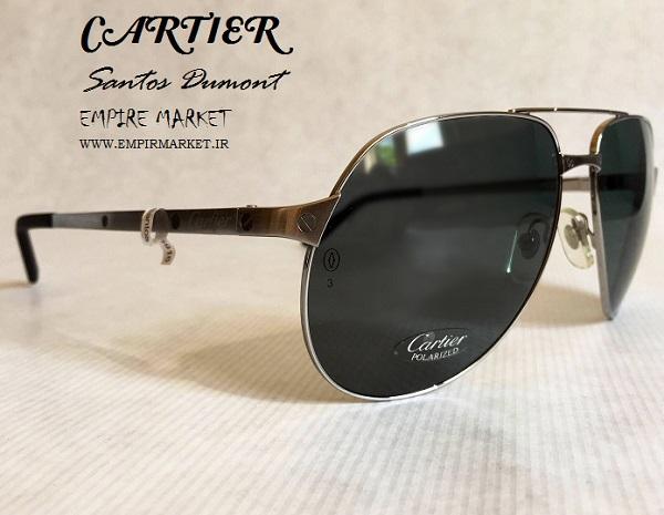 عینک آفتابی فریم فلزی کارتیر CARTIER sunglasses