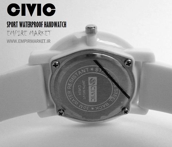 ساعت مچی ضدآب اسپرت سیویک CIVIC (ساخت ژاپن)