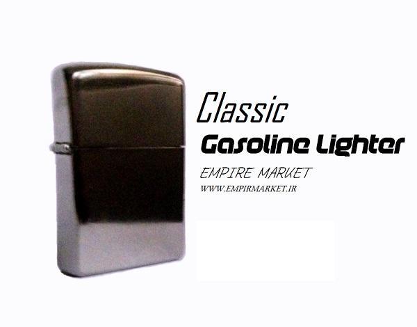 فندک بنزینی استیل کلاسیک Classic Gasoline Lighter